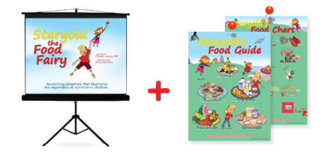 Stargold the Food Fairy ppt presentation and ePosters