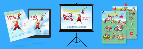 Stargold The Food Fairy - Educational Tools