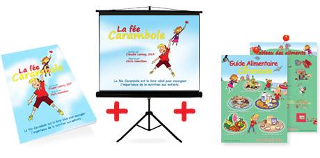 Carambole- Présentation PPT, posters numériques et livre couverture souple