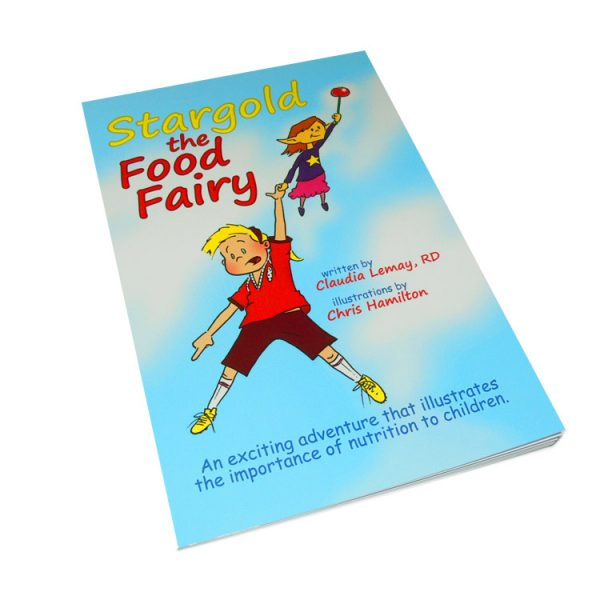 Stargold The Food Fairy Softcover Book